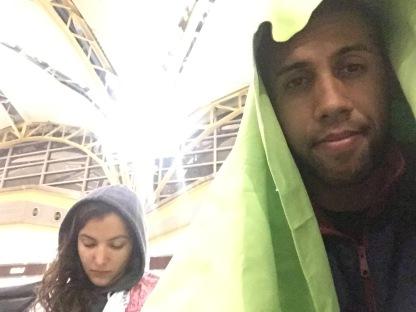 Sleepless airport nights